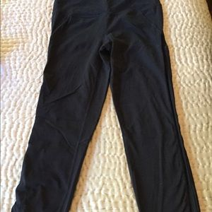 Athlete knit work out pants